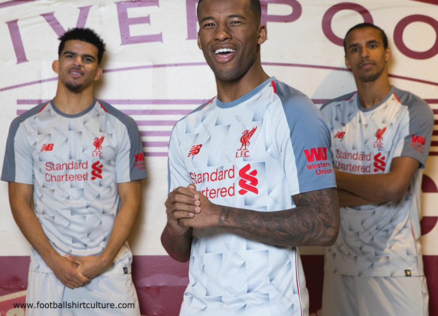 huge selection of 26cad 2da17 Liverpool 2018-19 New Balance Third Kit | 18/19 Kits ...