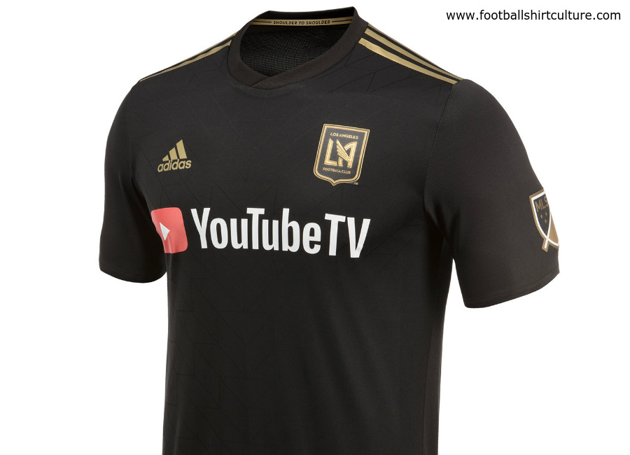Los Angeles FC 2018 Adidas Home Kit