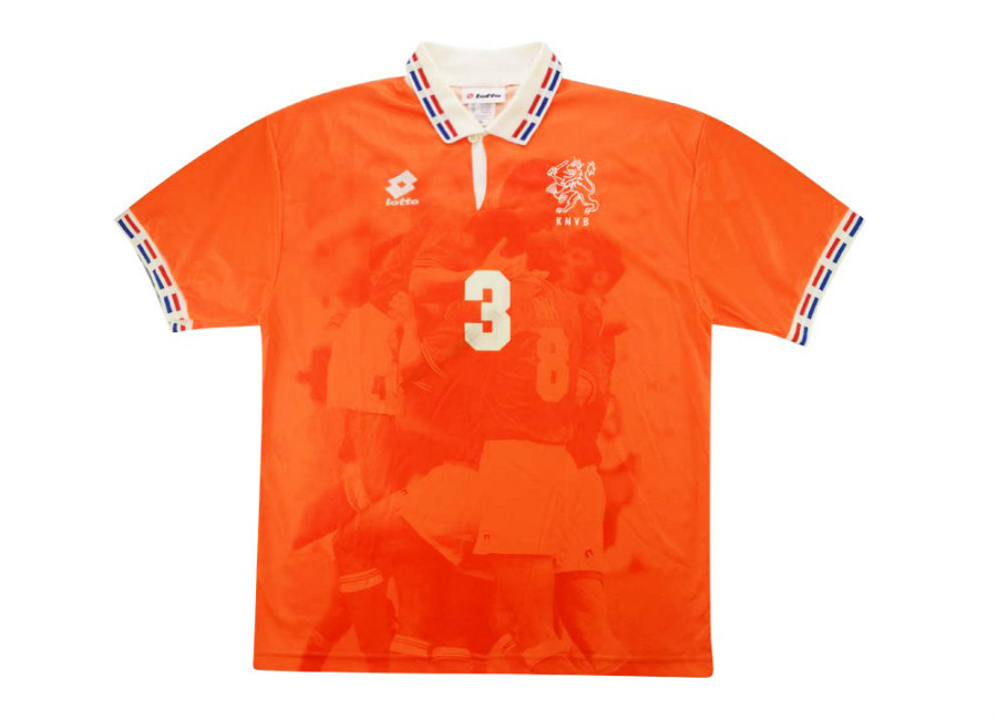 Lotto 1996 Holland Match Issue Home Shirt