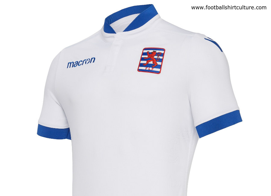 Luxembourg 2018 Macron Away Kit