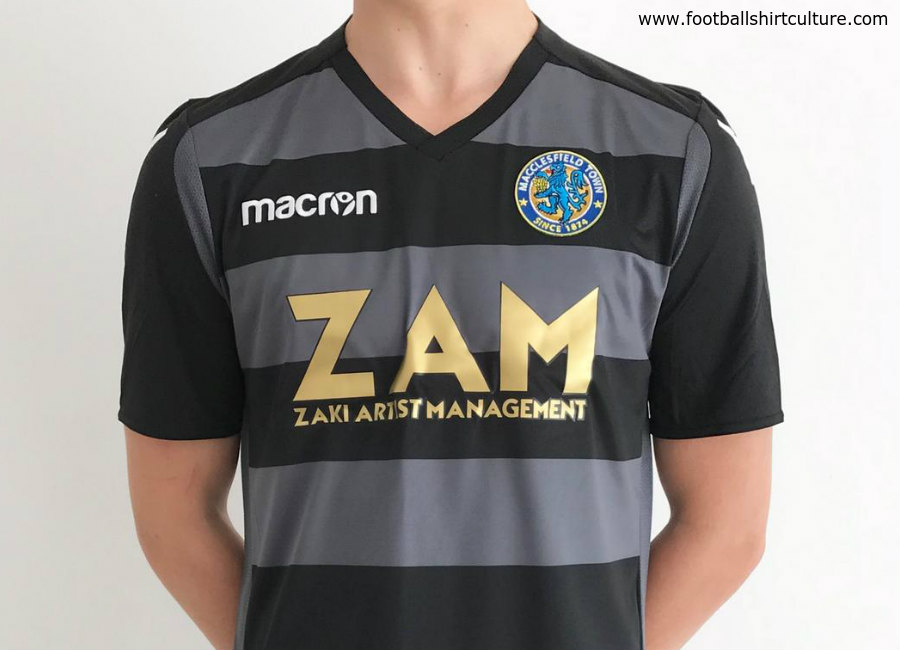 Macclesfield Town 2018-19 Macron Away Kit