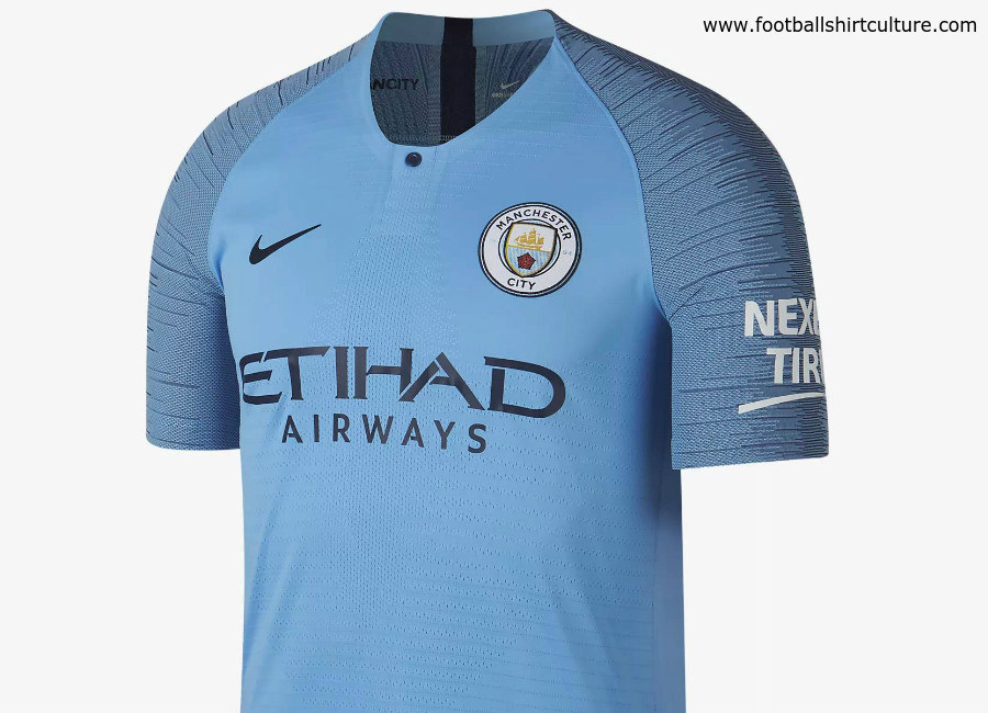 Manchester City 2018-19 Nike Home Kit
