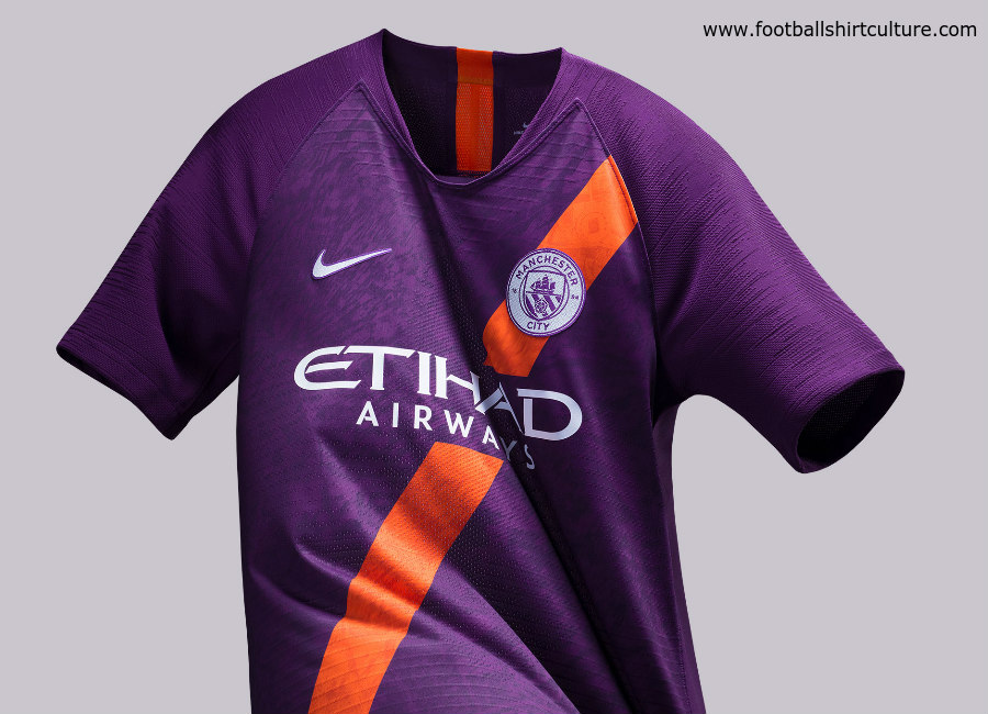 Manchester City 2018-19 Nike Third Kit