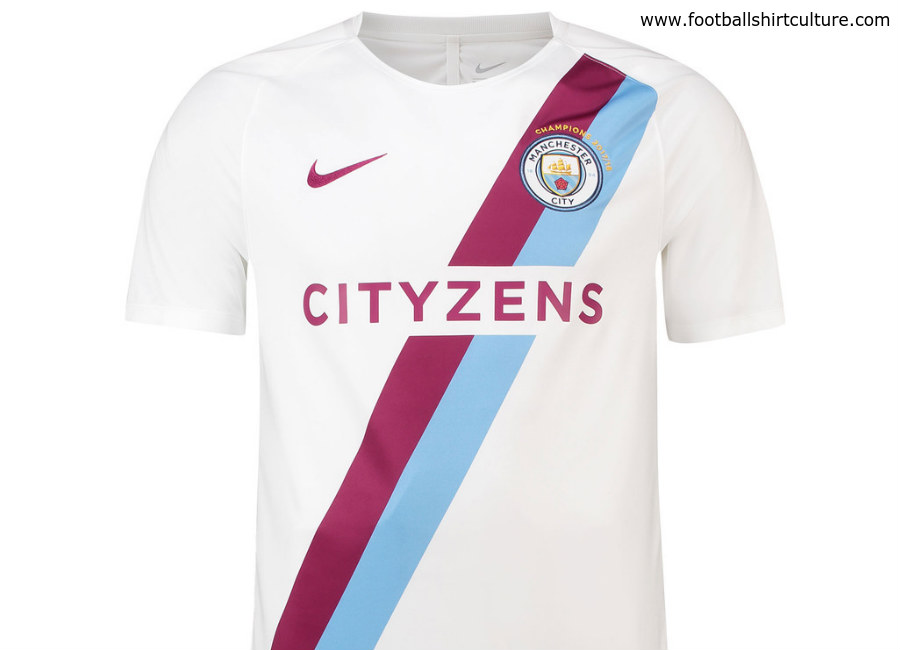 cfecae48fea Manchester City 17 18 Champions Shirt