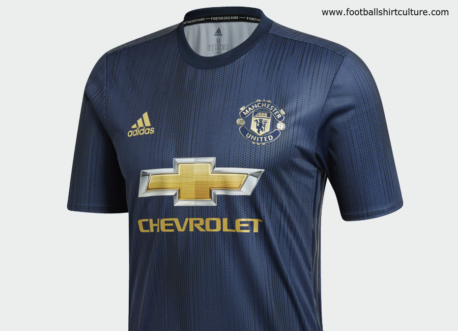 18139c3d30a Manchester United 2018-19 Adidas Third Kit