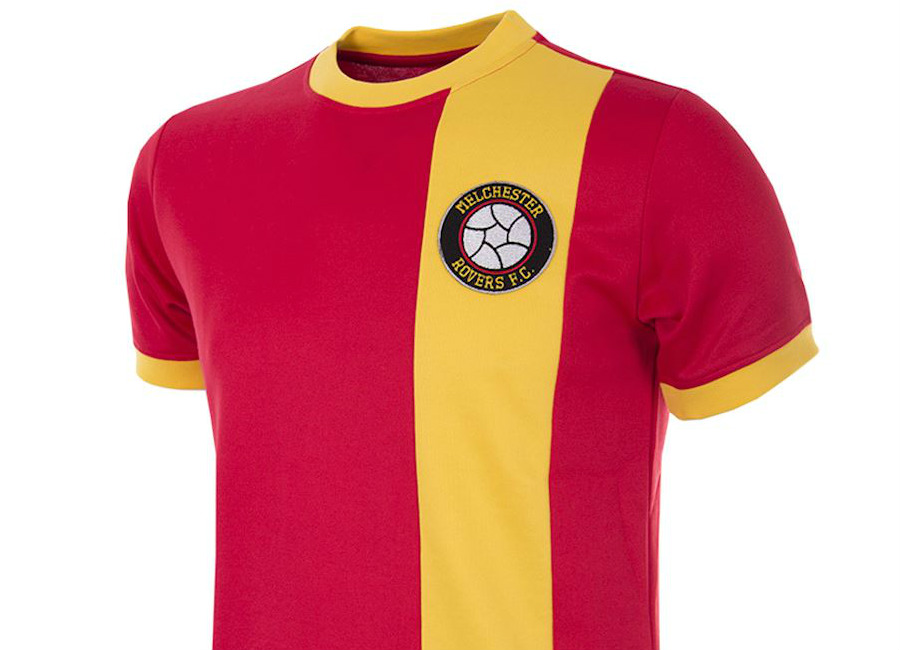 Melchester Rovers 1980s Copa Retro Football Shirt