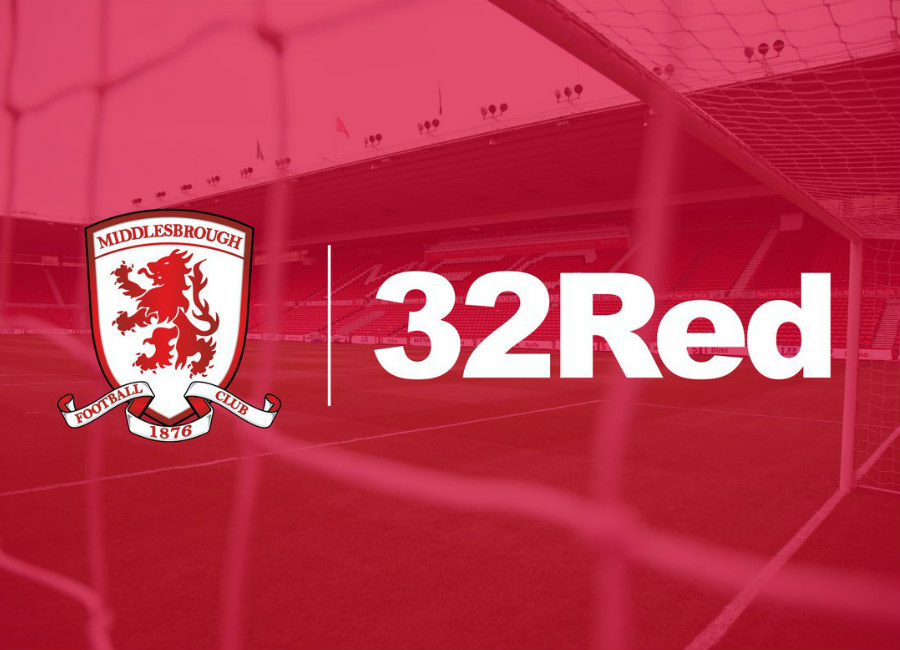 Middlesbrough announce 32Red Shirt Sponsorship Deal