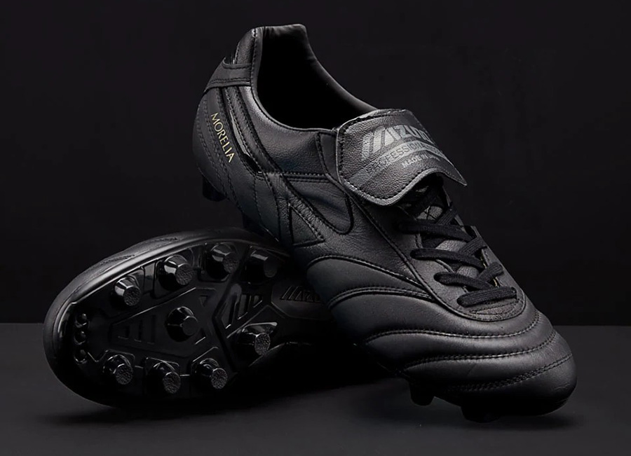 Mizuno Morelia II Leather Made in Japan - Black / Black / Black