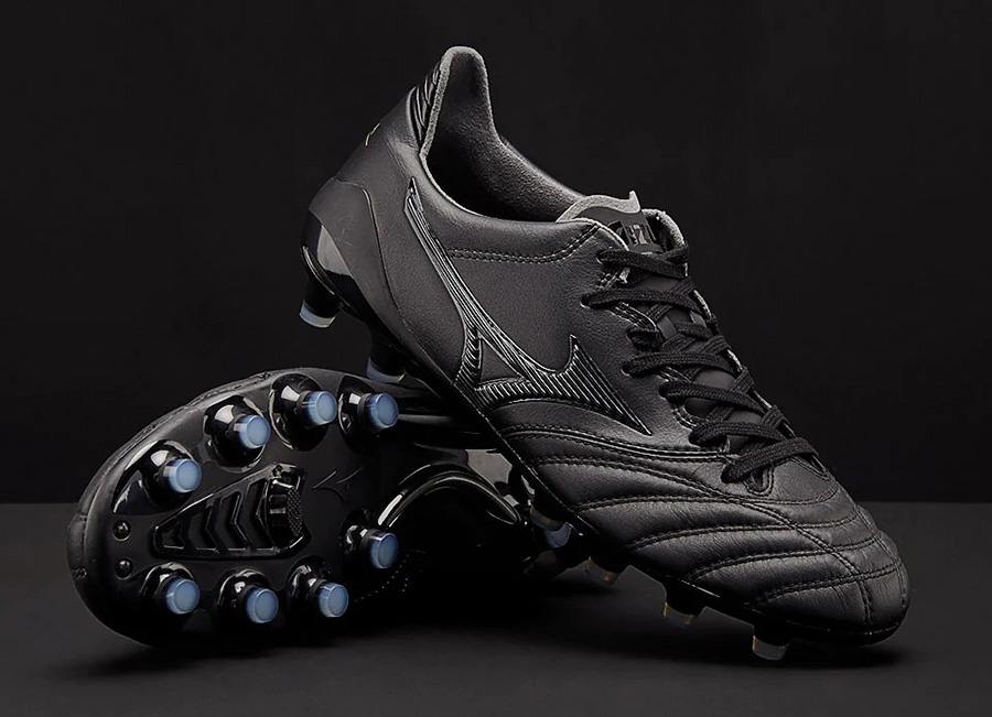 Mizuno Morelia Neo II Leather Made in Japan - Black / Black / Black