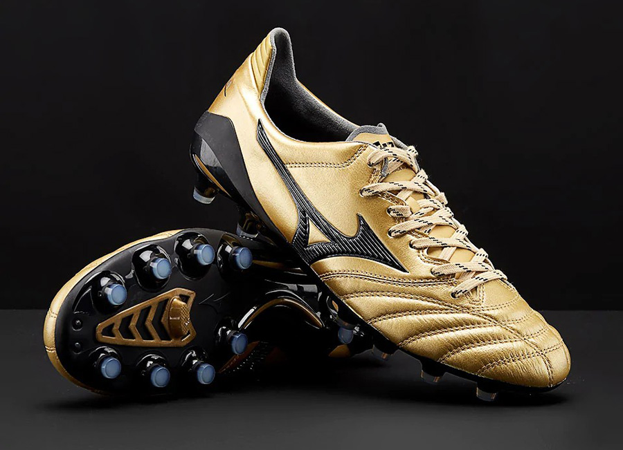 Mizuno Morelia Neo II Made in Japan - Gold / Black