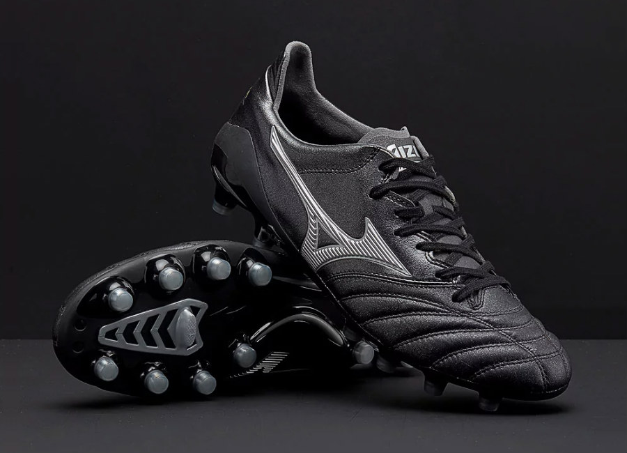 Mizuno Morelia Neo II Made in Japan MD - Black / Silver