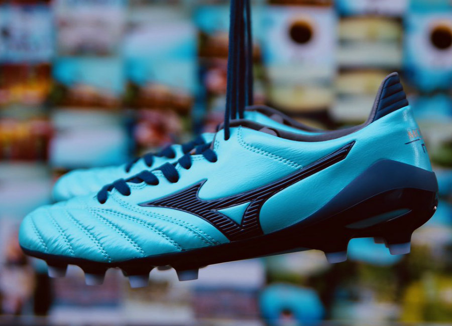 Mizuno Morelia Neo Ii Made In Japan Md Blue Atoll Blue Depths