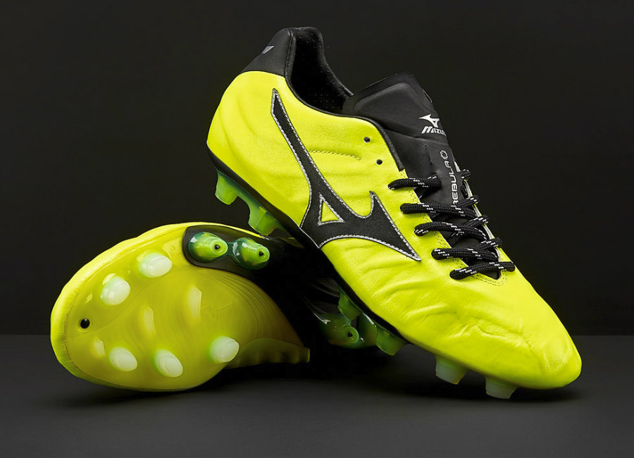 Mizuno Rebula V1 Made in Japan MD - Safety Yellow / Black / Silver