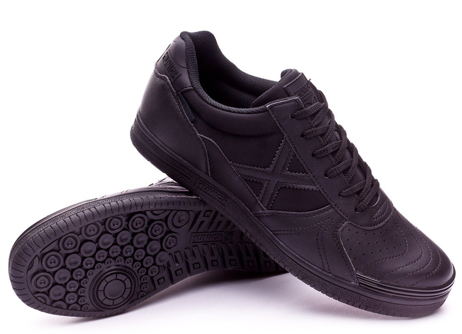 Munich G3 Monochrome Shoes - Black