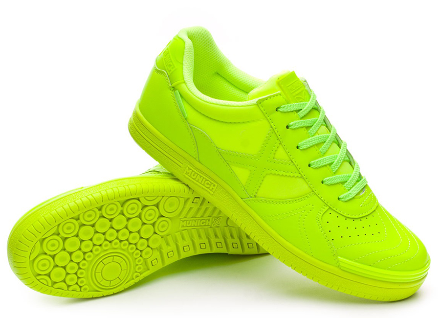 Munich G3 Monochrome Shoes - Lime