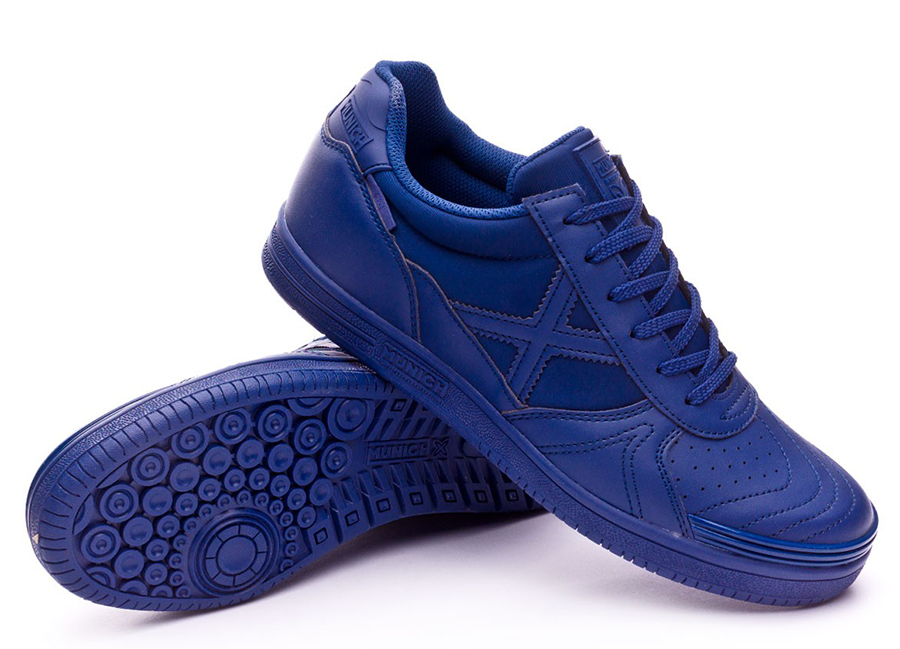 Munich G3 Monochrome Shoes - Navy Blue