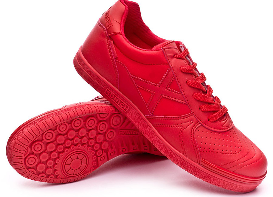 Munich G3 Monochrome Shoes - Red