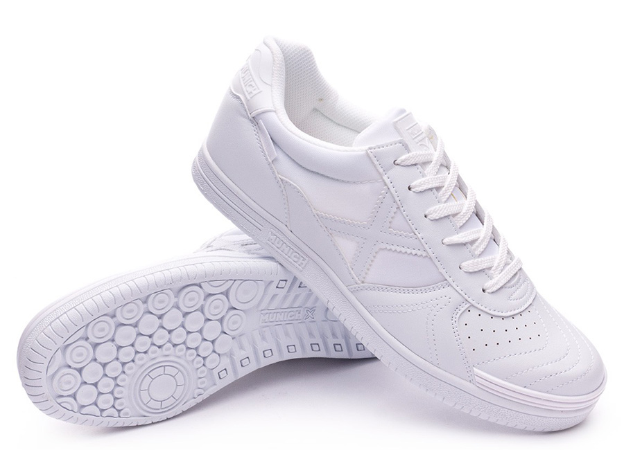 Munich G3 Monochrome Shoes - White