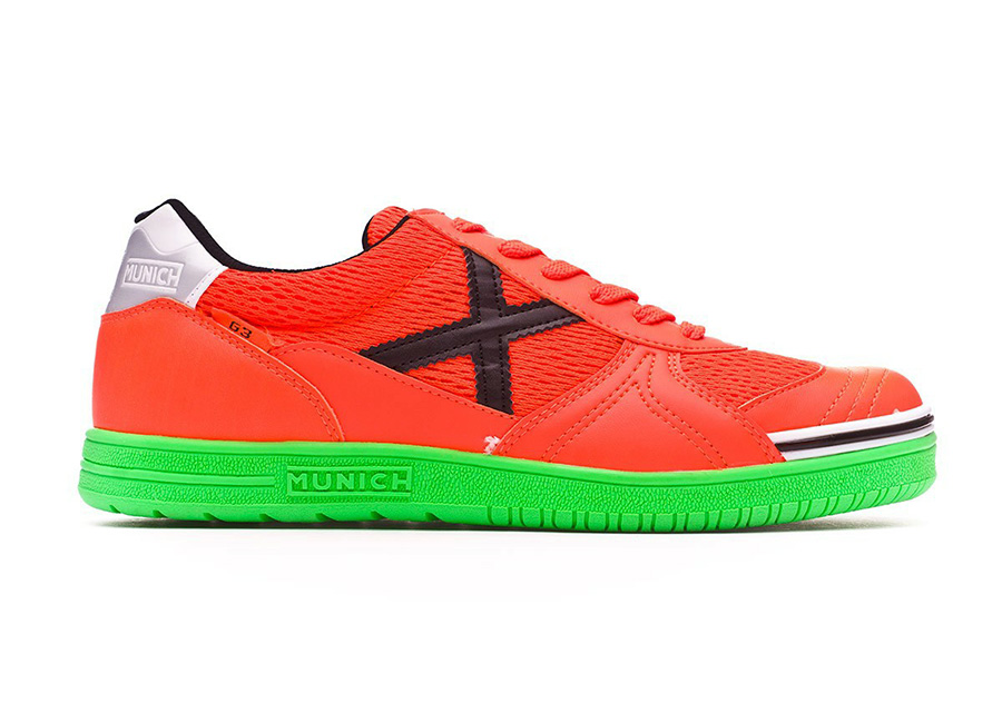 Munich G3 - Orange / Green