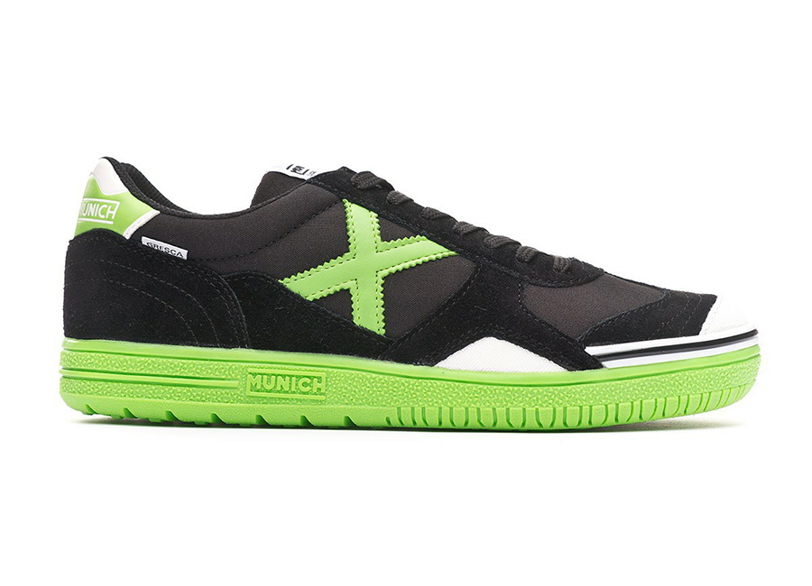 Munich Gresca - Black / Green Fluor