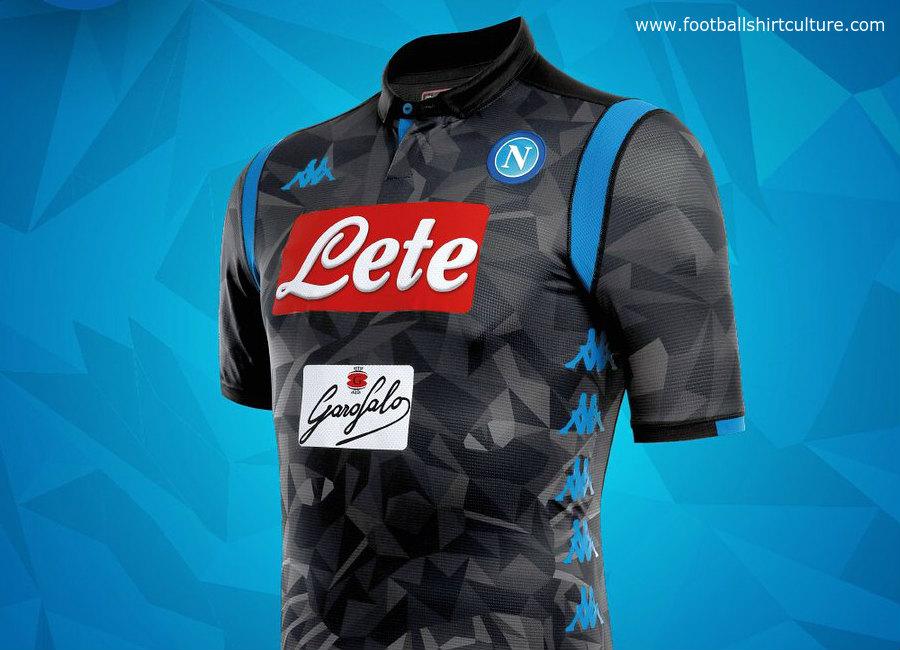 Napoli 2018 19 Kappa Away Kit 18 19 Kits Football Shirt Blog