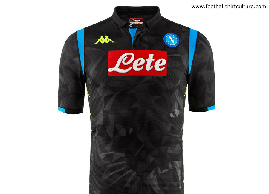 Napoli 2018-19 Kappa Europe Away Kit  ee15577cb