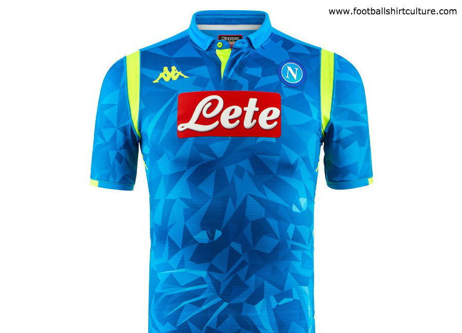 Napoli 2018-19 Kappa Europe Home Kit