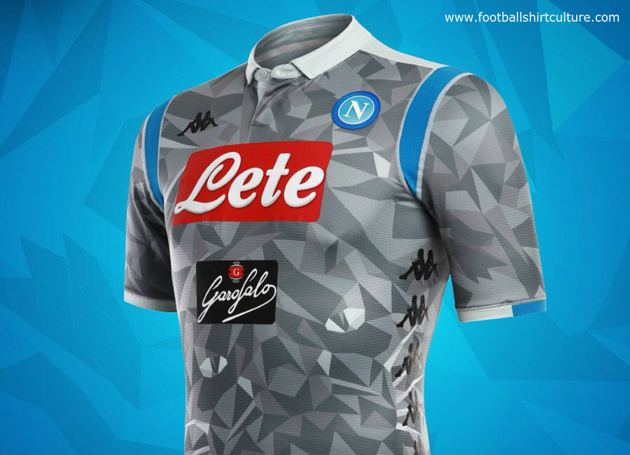 Napoli 2018 19 Kappa Third Kit 18 19 Kits Football Shirt Blog