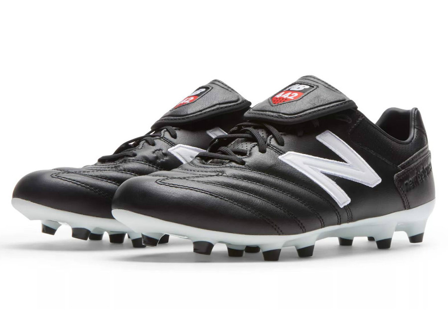 New Balance 442 Pro FG - Black / White / Red