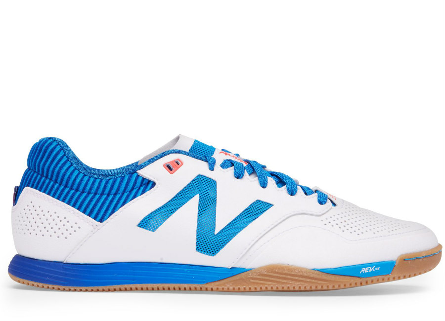 New Balance Audazo 2.0 Pro IN - White / Team Royal / Bolt