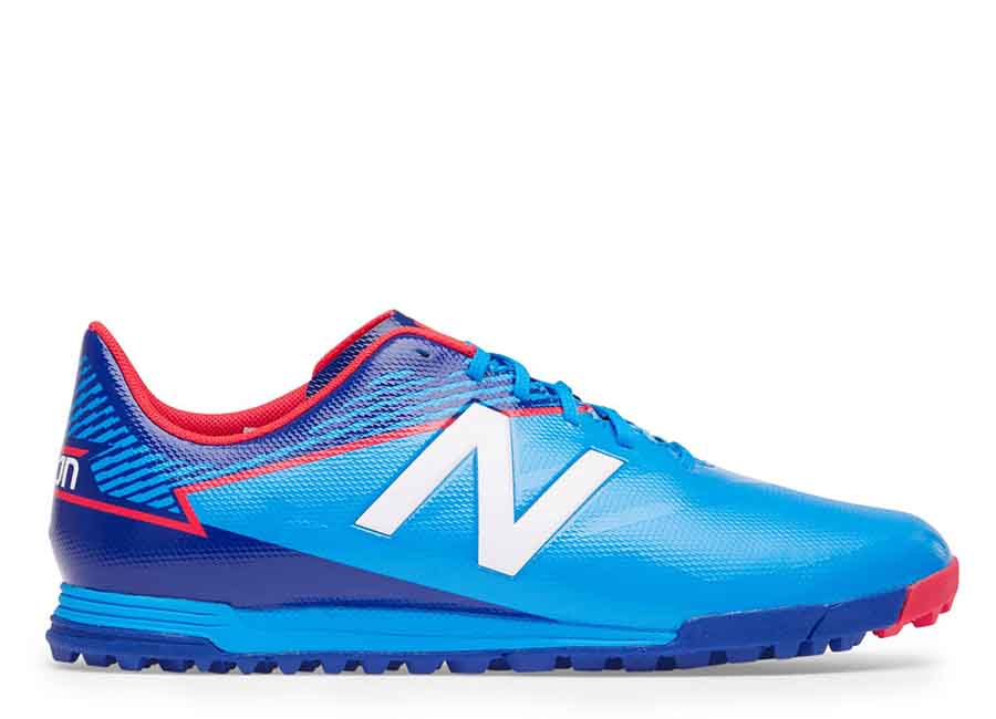 New Balance Furon 3.0 Dispatch TF - Bolt / Royal Blue / Energy Red