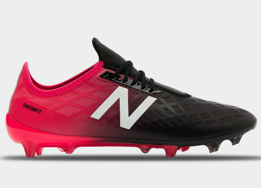 New Balance Furon 4.0 Pro FG - Black / Bright Cherry