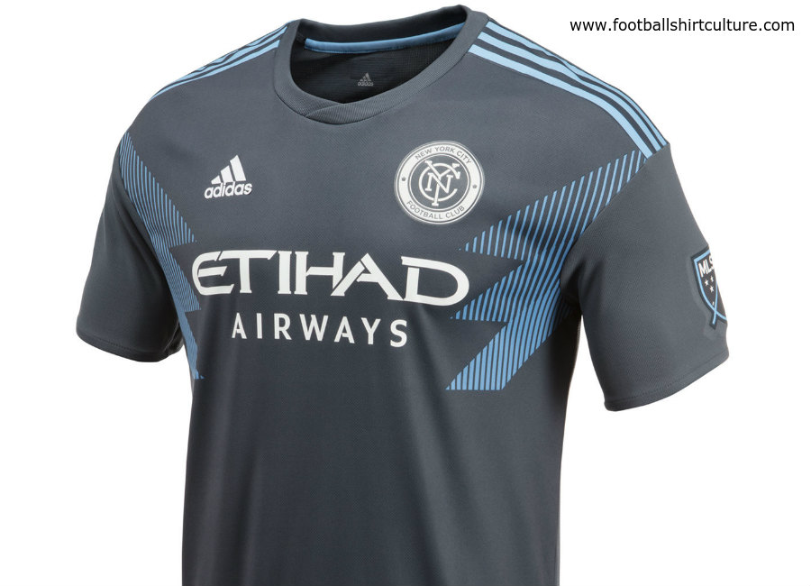 New York City FC 2018 Adidas Away Kit