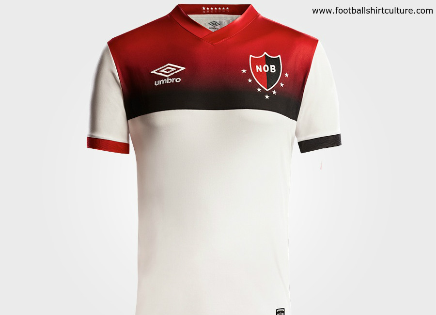 9465105432e Newell s Old Boys 2018 Umbro Away Kit. Classic Shirts