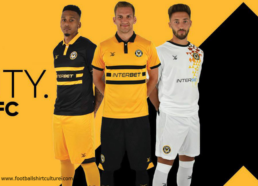 Newport County 2018-19 FBT Football Kits