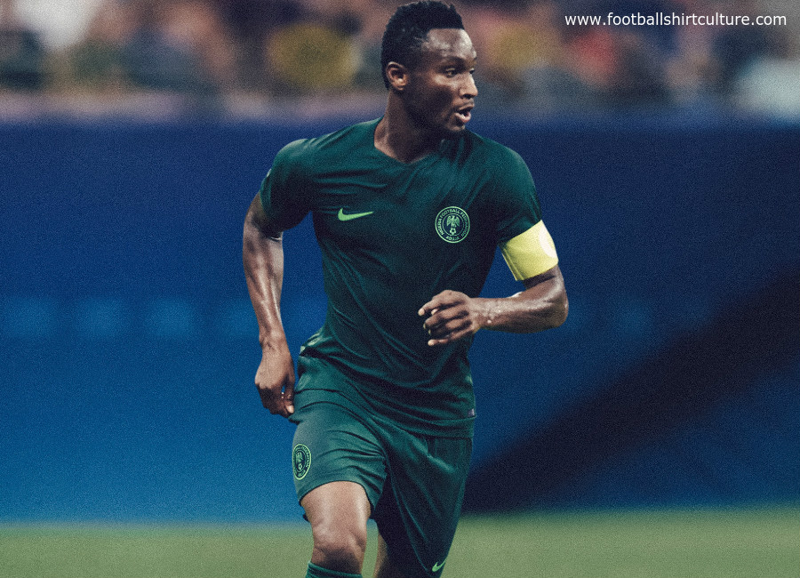 26b5e4399 Nigeria 2018 World Cup Nike Away Kit