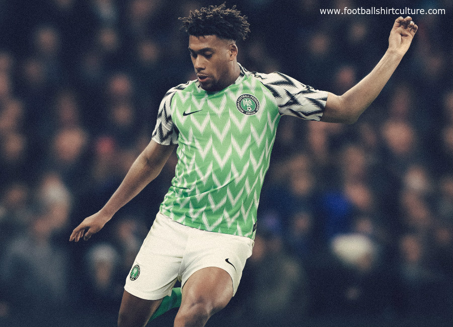 Nigeria 2018 World Cup Nike Home Kit  d3da3f026