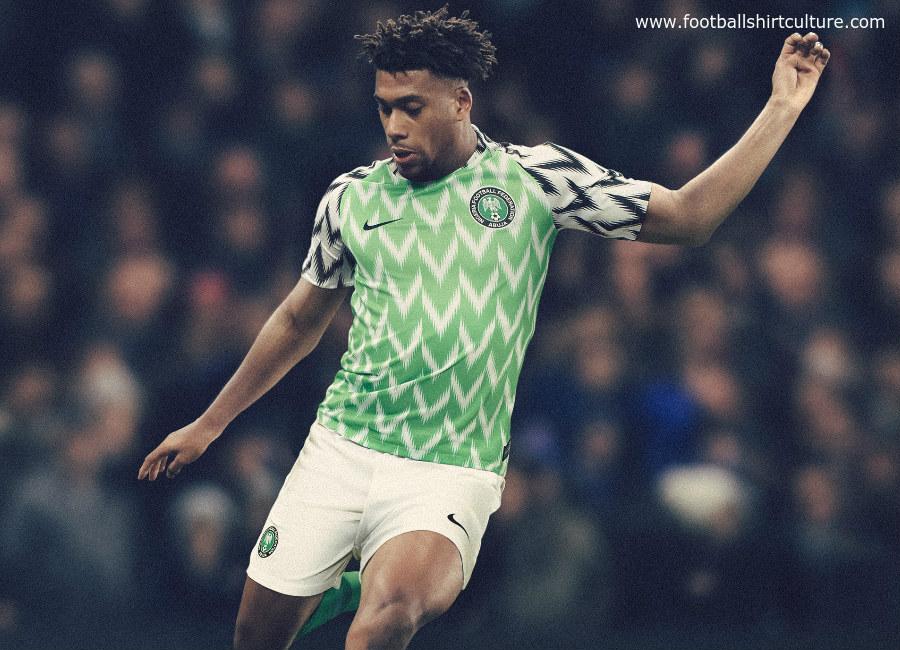 Nigeria 2018 World Cup Nike Home Kit