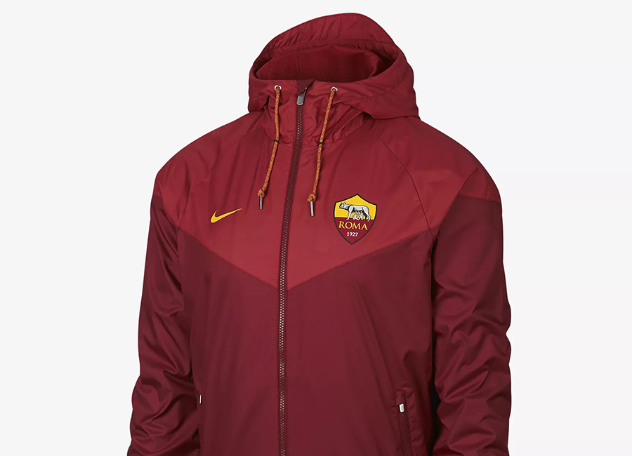 Nike AS Roma Windrunner - Team Red / Team Crimson / University Gold
