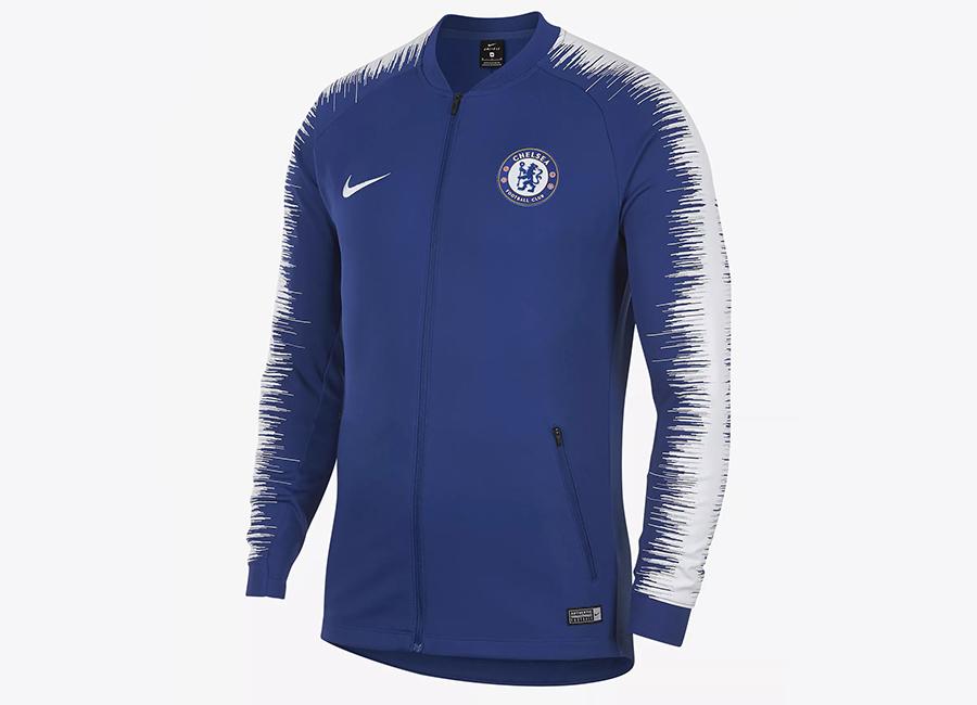 Nike Chelsea FC Anthem Jacket - Rush Blue / White / White