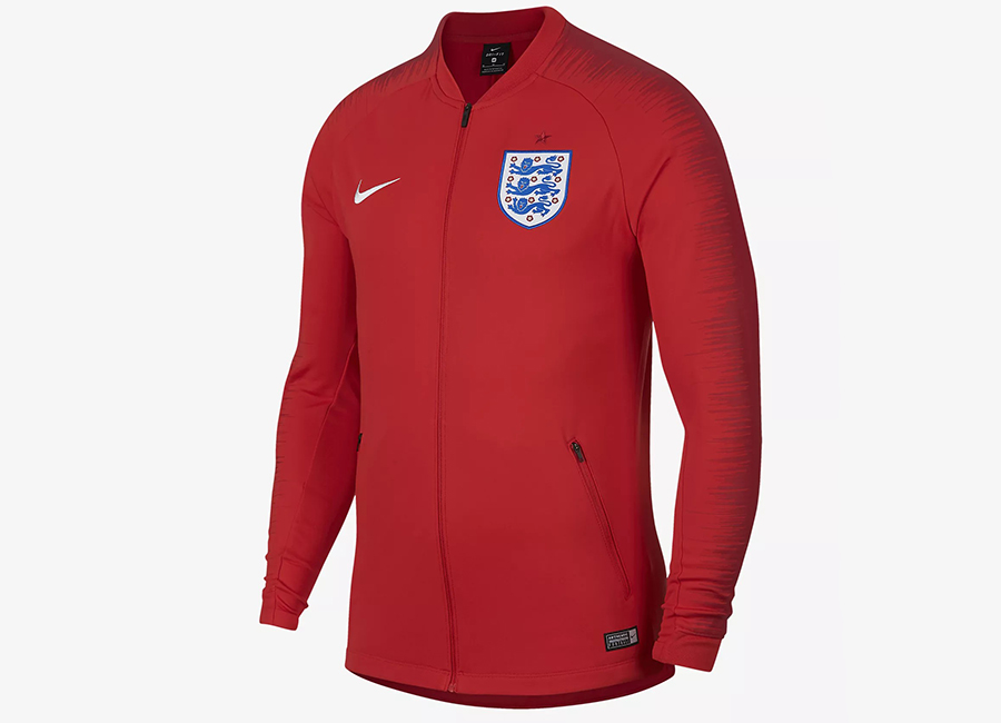 Nike England Anthem Jacket - Challenge Red / Challenge Red / Gym Red / White