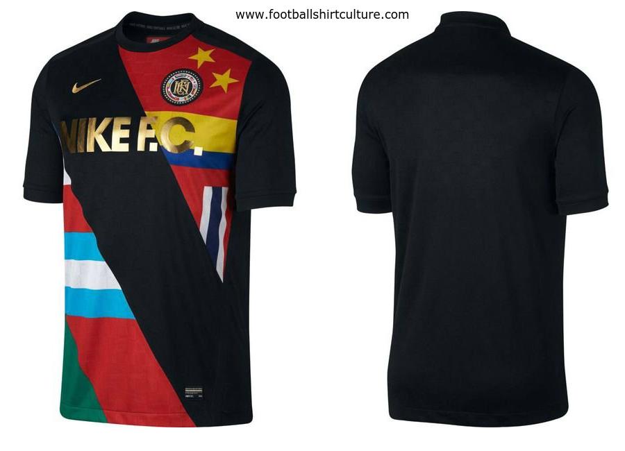 9025d885bd1e Nike F.C. Training T-Shirt - Black   University Red