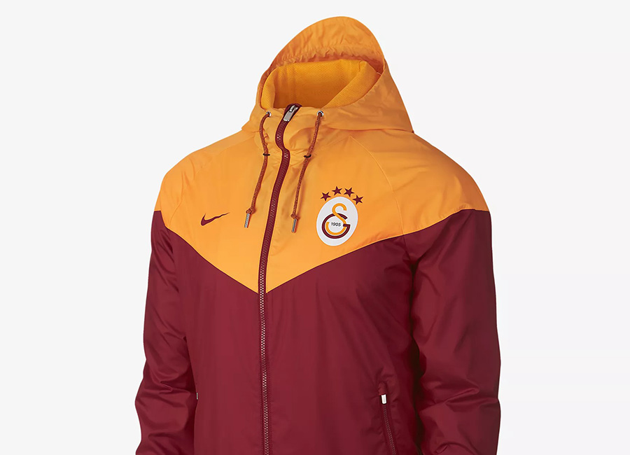 Nike Galatasaray S.K. Windrunner - Pepper Red / Vivid Orange / Pepper Red