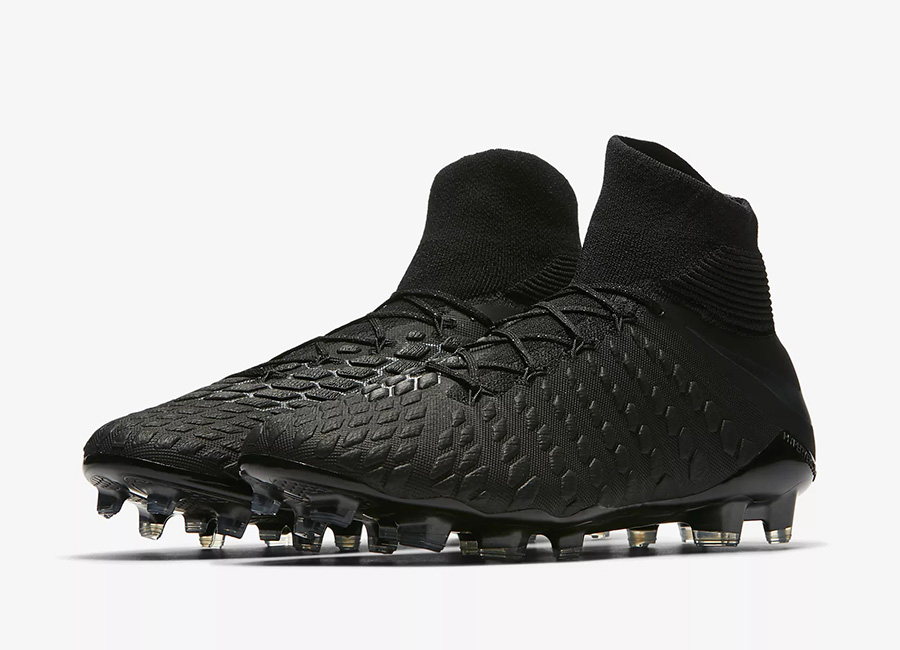 Nike Hypervenom III Elite DF FG Stealth Ops - Black / Light Crimson / Black