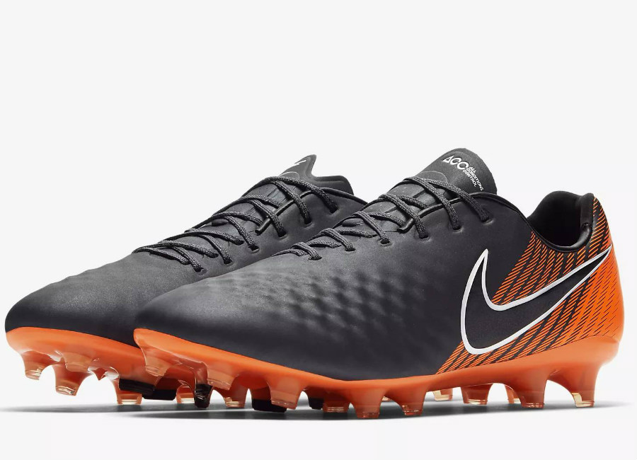 Nike Magista Obra II Elite FG Fast AF - Dark Grey / Total Orange / White / Black