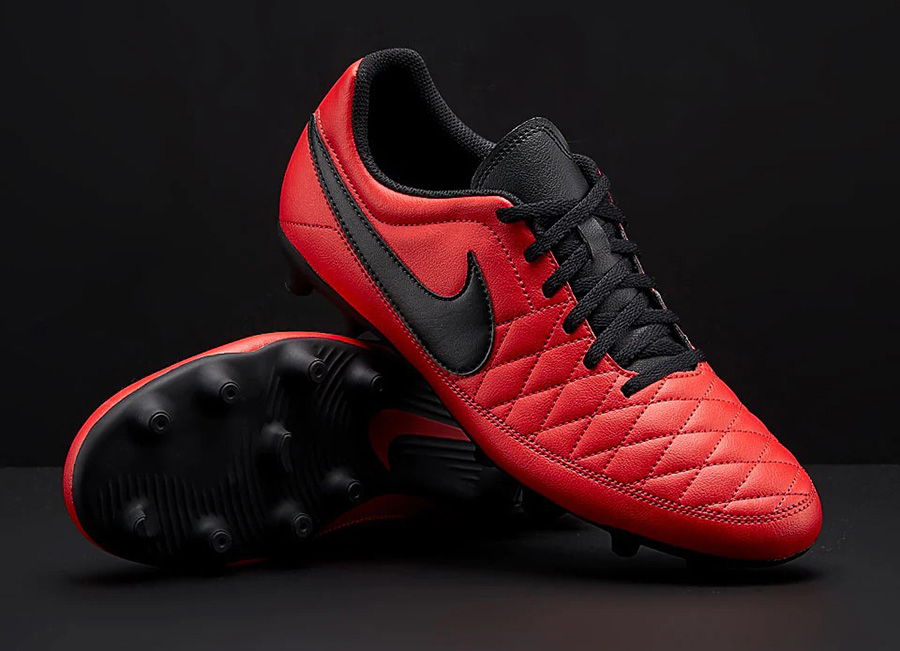 Nike Majestry FG - University Red / Black