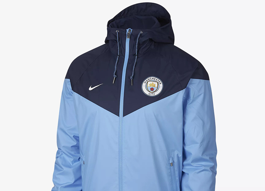 Nike Manchester City FC Windrunner - Field Blue / Midnight Navy / White