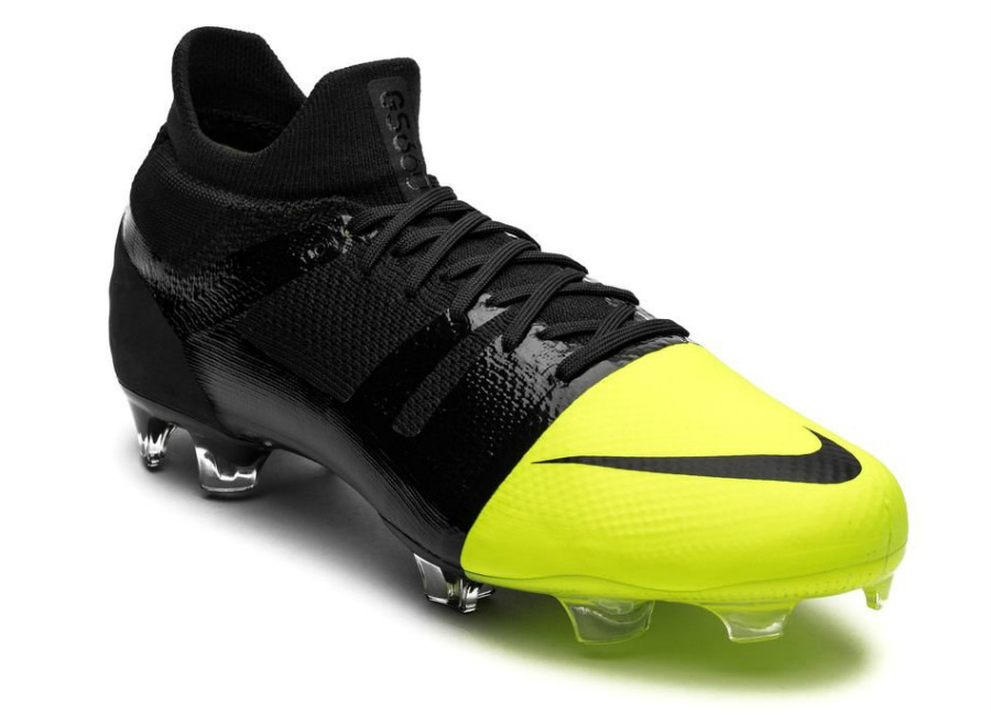 Nike Mercurial Greenspeed 360 FG - Black / Metallic Silver / Volt