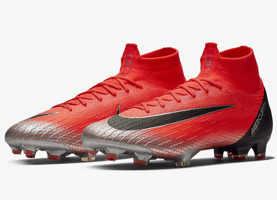 Nike Mercurial Superfly 360 Elite CR7 FG Chapter 7 - Flash Crimson / Total Crimson / Black