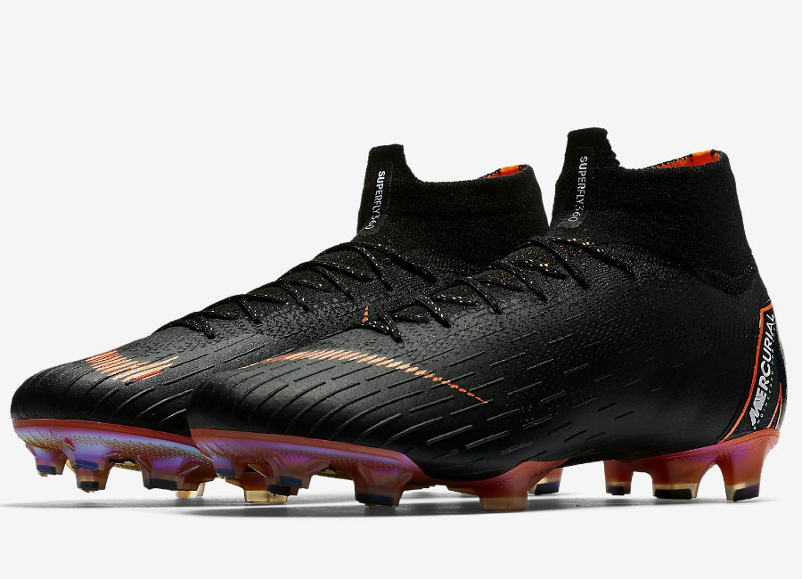 Nike Mercurial Superfly 360 Elite FG - Black / White / Total Orange